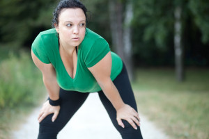 woman-taking-break-running