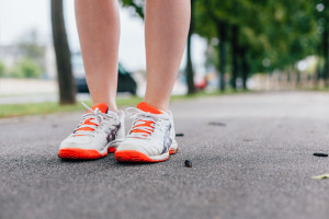 orange-shoes-runner-on-path