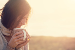 woman-tea-cold-months-vitamin-D
