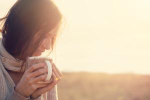 woman-tea-cold-months-vitamin-D