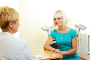 woman-waiting-gynecologist-office