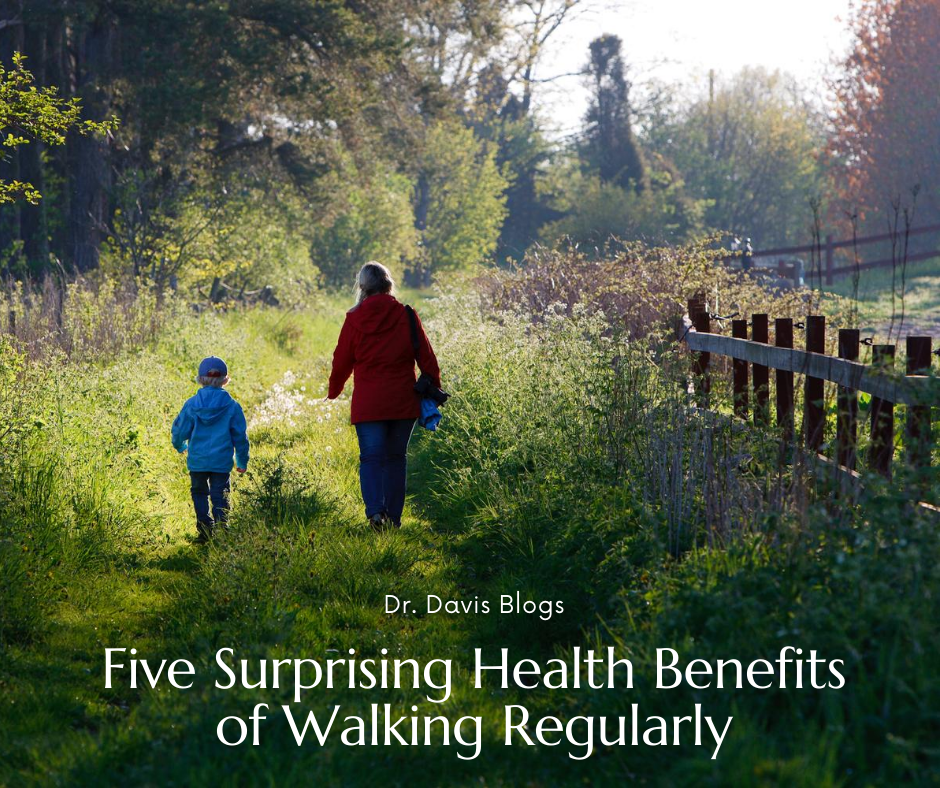 photo of mother and son on a nature walk with the blog title